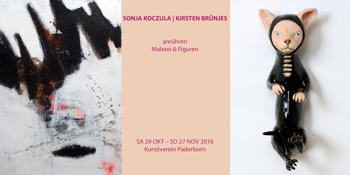 Sonja Koczula und Kirsten Brünjes | anrühren – Malerei & Figuren