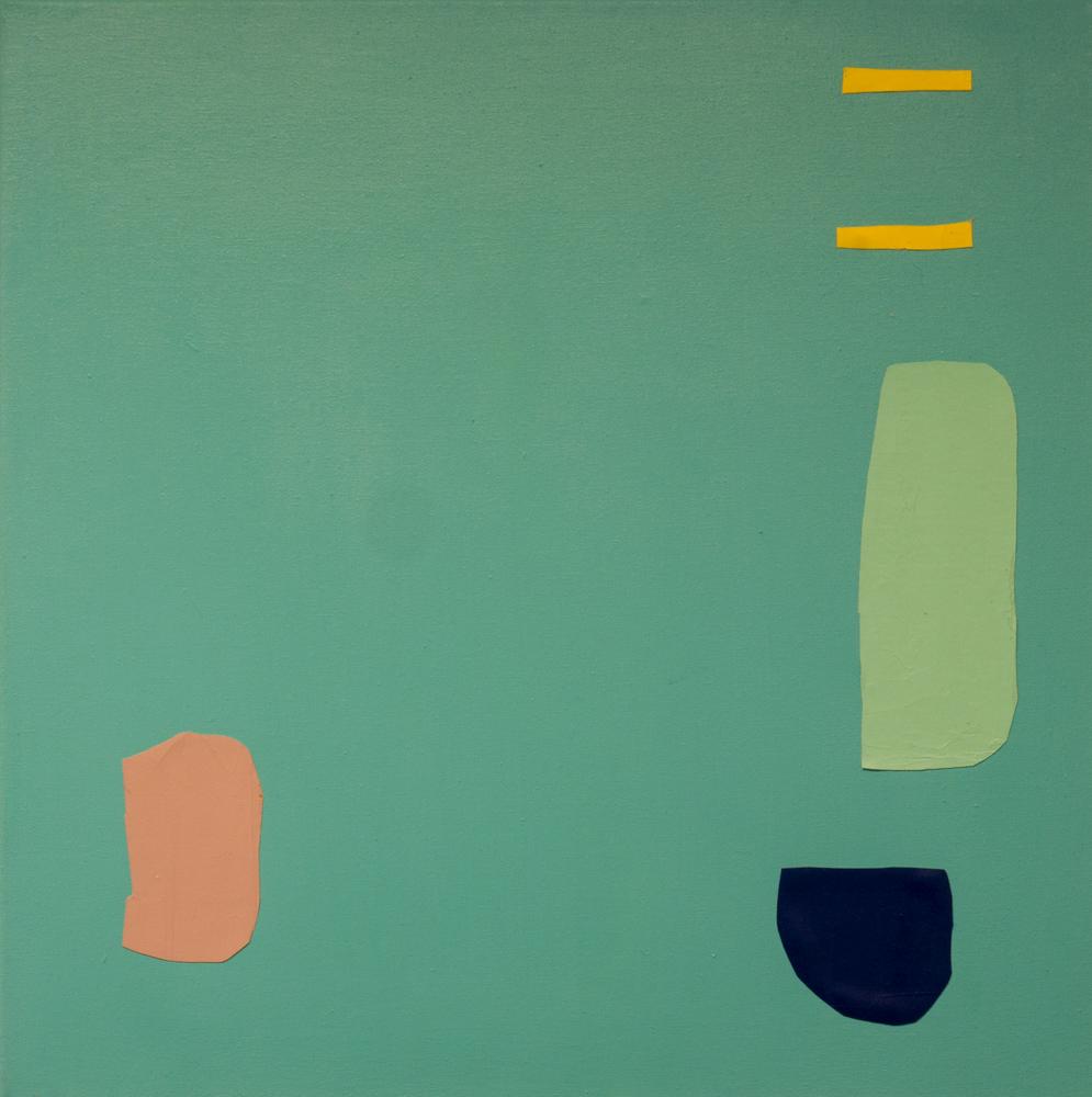 Katja Colling, B, 2016, Öl und Acryl auf Leinwand
