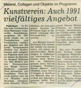 Vorschau 1991