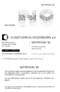SATYRYKON '92